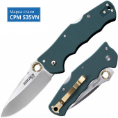 Нож COLD STEEL Golden Eye Forest Green Spear Point CS_62QFGS